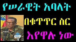 Ethiopia : የሠራዊት አባላት  ከጀርባ በመሆን ሲያነሳሱ የነበሩ አካላት በቁጥጥር ስር እየዋሉ መሆኑ ተገለፀ