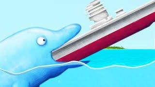 Download Lagu DOLPHIN EATS AN AIRCRAFT CARRIER! - Tasty Blue Part 4 | Pungence Gratis STAFABAND
