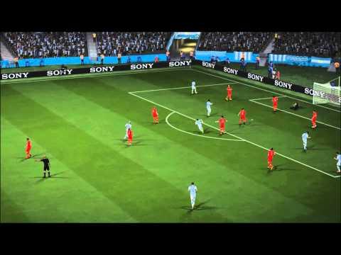 Fifa 14 - Lionel Messi Goal v Iran (ShooterWilliamson Commentary)