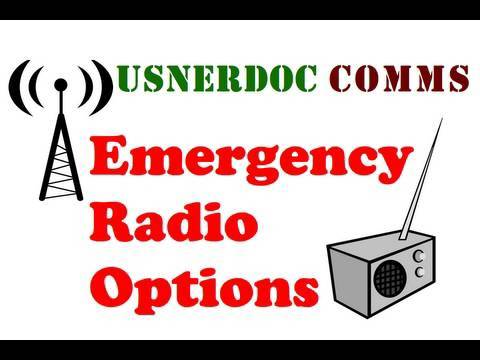 COMMS: Emergency Radio Options for Your 72 Hour Kit