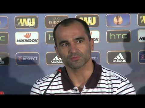 Roberto Martinez's Krasnodar Press Conference