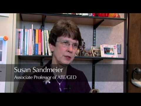 Susan Sandmeier, Associate Professor for Adult Basic Education, ...