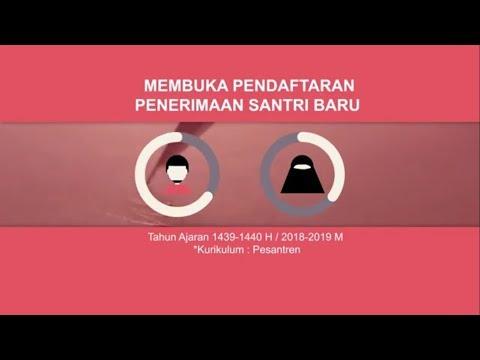Pendaftaran santri baru Pondok Pesantren Islam Nurul Huda Purbalingga TP. 2017-2018
