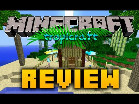 MINECRAFT: REVIEW TROPICRAFT MOD PARA 1.6.4 + LINK DESCARGA EN LA DESCRIPCION
