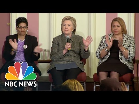 Hillary Clinton: Gun Control Needs To Be A Voting Issue | NBC News