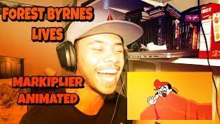 FORREST BYRNES LIVES REACTION   Markiplier Animated
