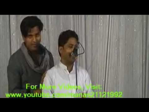 Poet Imran Pratapgarhi At Pachperwa Mushaira (part-1) video