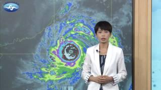 中央氣象局莫蘭蒂颱風警報記者會_105年9月13日20:40發布