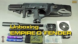 Unboxing EMPIRE BT DFENDER Szenario Markierer by PAINT SUPPLY