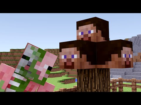 Monster School: Farming - Minecraft Animation | Steve Tree