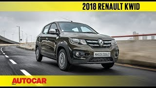 2018 Renault Kwid 1.0 AMT - What's new? | First Drive Review | Autocar India