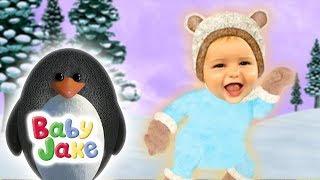 Baby Jake - Sliding Through the Snow   Full Episodes   Yacki Yacki Yoggi   Cartoons for Kids