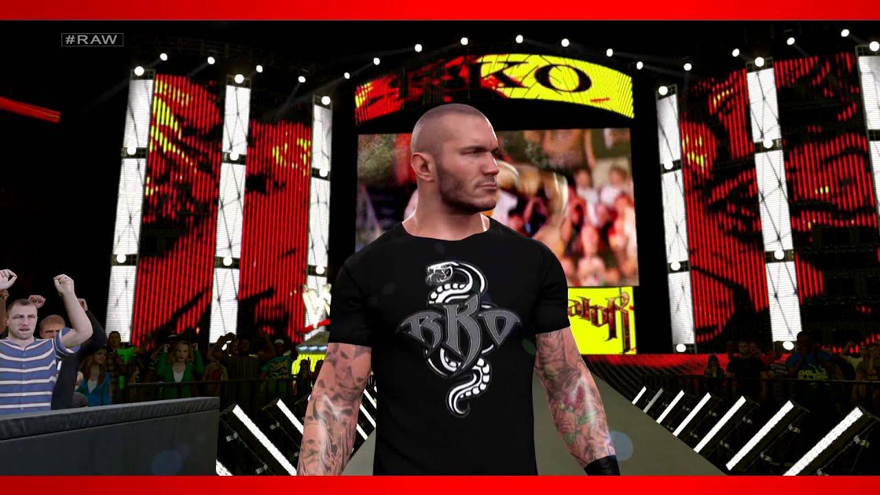 Wwe 2k15 Randy Orton Retro Wwe 2k15 Randy Orton Entrance