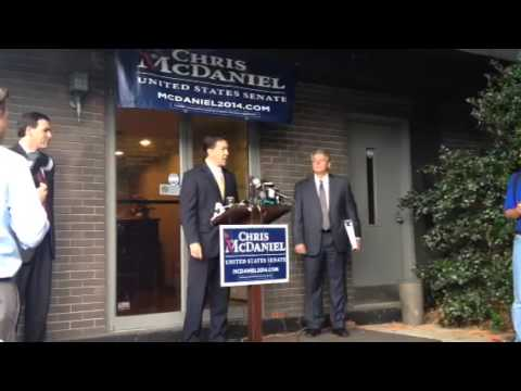 Chris McDaniel officially files a challenge