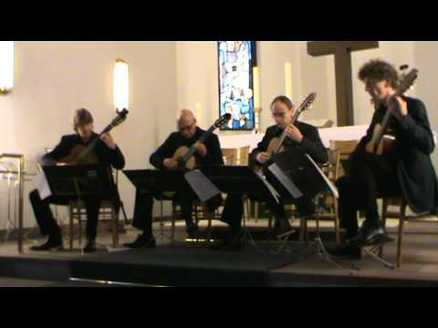 GuitArt Quartett plays Fernando Sor/Gilbert Biberian (II)