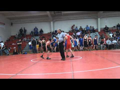 Blaise Pomeroy (167 lbs) vs Waukesha Central Middle School 121110.wmv