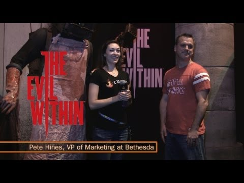 The Evil Within - E3 Interview with Pete Hines from Bethesda Softworks