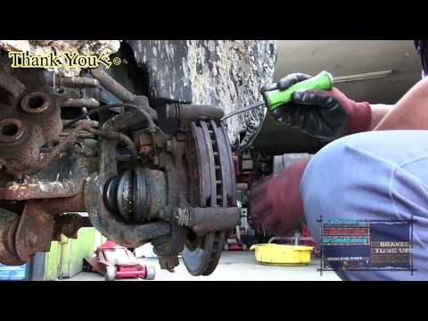 The Easiest Way To Remove A negligent Stuck Rusted Wheel Bearing