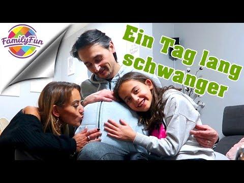 1 TAG LANG SCHWANGER - WENN MÄNNER SCHWANGER SIND.. - Family Fun