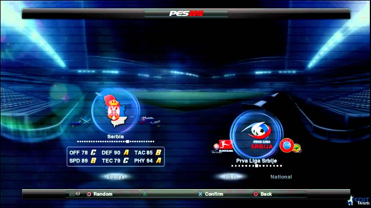 Pes 13 jelen super liga patch tpbank