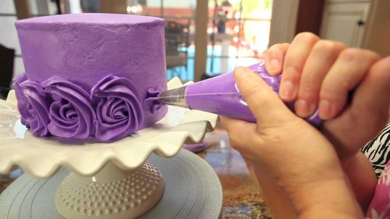 Сделать цветы на торте в домашних условиях