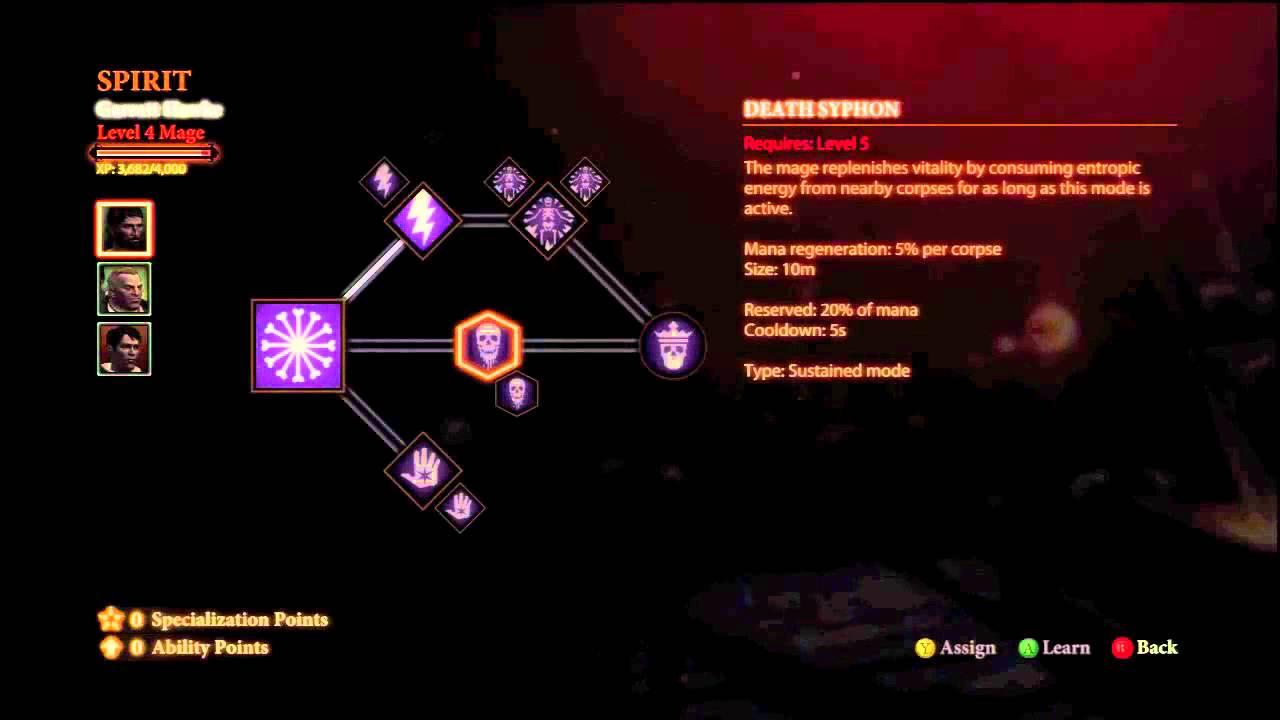 Dragon Age Inquisition Best Mage Build