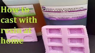 Making a Mould and casting with resin #1