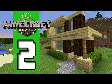 Beef Plays Minecraft Mindcrack Server S5 EP02 First Home