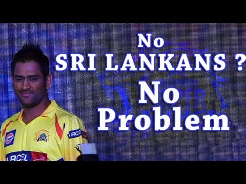 Absence of Sri Lankan Cricketers will not affect the team - M.S.Dhoni, CSK team captain [RED PIX]