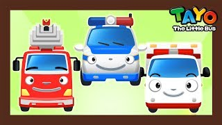 Rescue Team Song l Car Songs l The Brave Rescue Cars l Fire Engine Song l Songs for Children