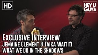 Jemaine Clement & Taika Waititi Interview - What We Do In The Shadows