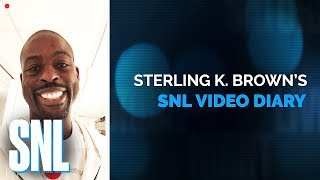 Sterling K. Brown's SNL Video Diary - SNL