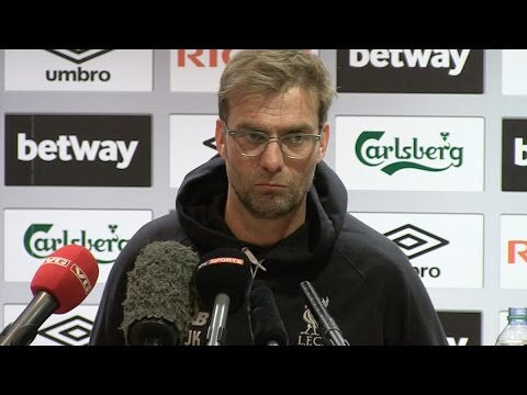 West Ham 2-1 Liverpool - Jurgen Klopp's Post Match Press Conference (FA Cup 4th Round Replay)