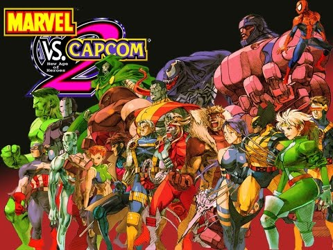 Marvel vs Capcom 2 - Arcade Mode