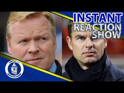 Will Everton Go Dutch ?  Ronald Koeman / Frank De Boer
