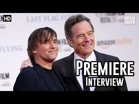 Richard Linklater | Last Flag Flying LFF 2017 Premiere Interview