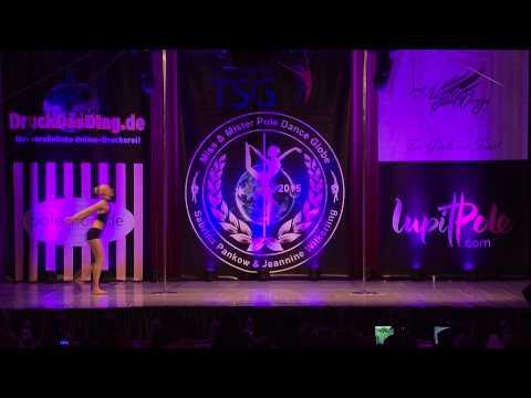 Miss & Mister Pole Dance Globe 2015 - Clara Jönsson - Finalist - Juniors 14 - 17