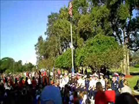 Veterans Appreciation / Patriotism Day Northwest Elementary School Tampa Colonel's Speech