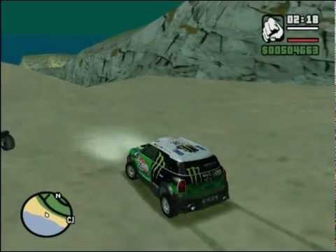 Mini Countryman Dakar 2013 para GTA San Andreas