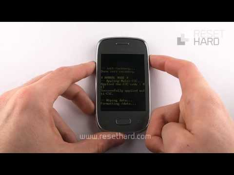 How To Hard Reset Samsung Galaxy Pocket Neo