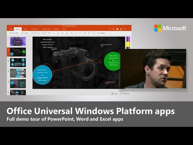 First look at Office for Windows 10