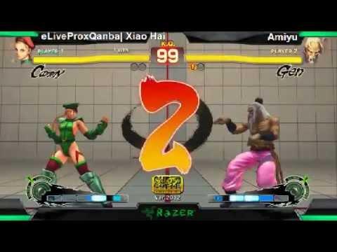 SS2K12 AE2012: Xiao Hai (Cammy) vs Amiyu (Gen) - Day 1 (Losers Pool Match)