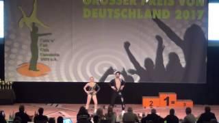 Michelle Uhl & Tobias Bludau - Großer Preis von Deutschland 2017