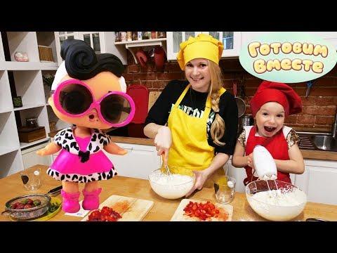 Игры для детей на кухне. Я готовлю лучше Домашний Торт