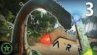 Don't Smash Our House, Mr. Dino! - Ark: Survival Evolved (#3) | Let's Play