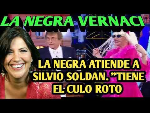 """LA """"NEGRA"""" VERNACI - ATIENDE A SILVIO SOLDÁN: """"Es un culo roto"""" thumbnail"""