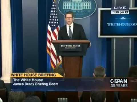 Jay Carney Gets Upset At W.H. Reporter's Questions About Sebelius, Calls Question Lame