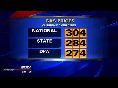 Gas prices drop below $3