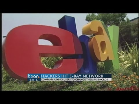 eBay warns customers to change passwords amid hack