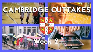 APPLE CATCHING, MOVIE WATCHING and SURPRISES - Cambridge Outtakes Week 2